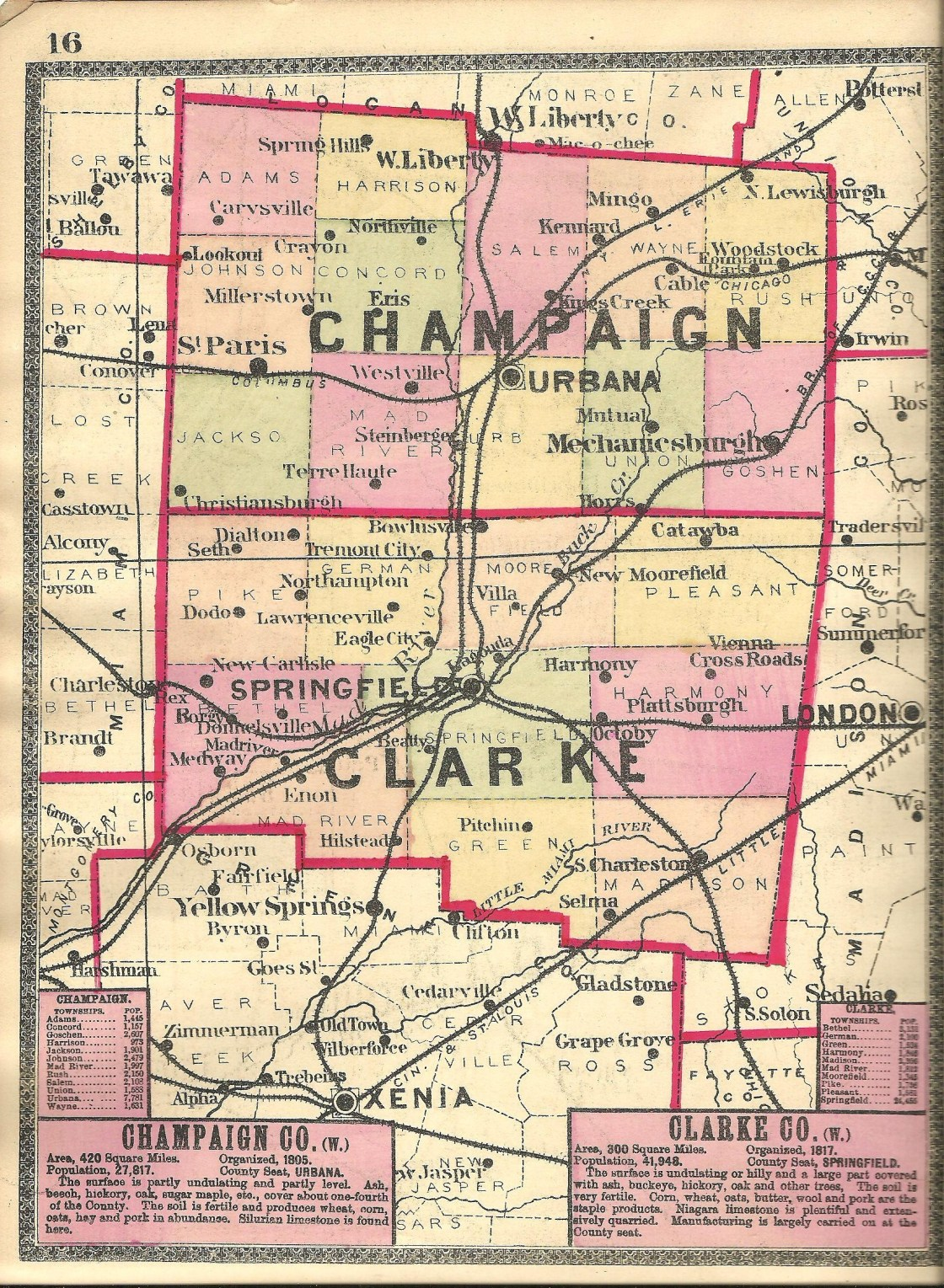 Champaign County – Ohio Ghost Town Exploration Co. on