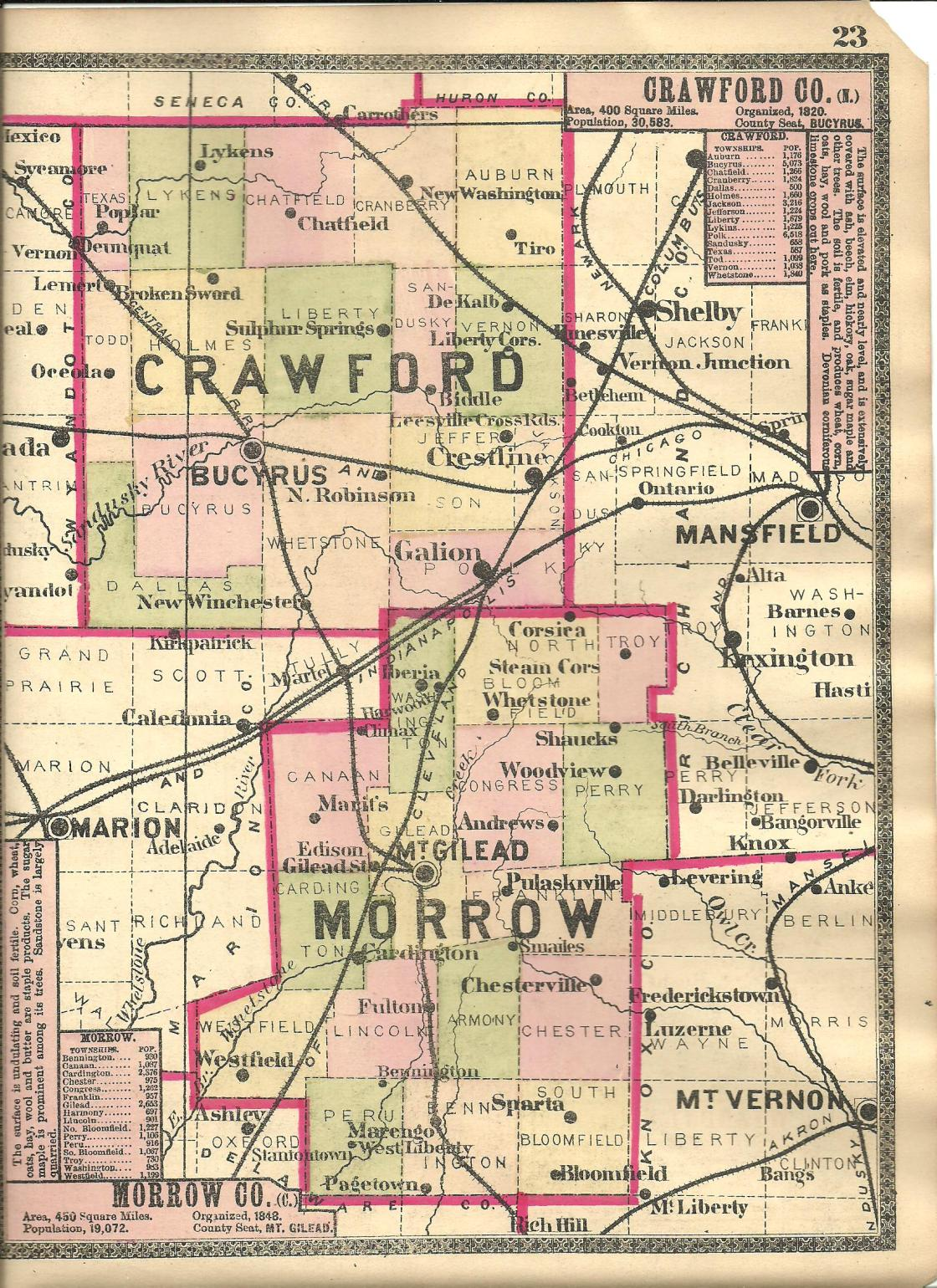 Crawford County Ohio Ghost Town Exploration Co