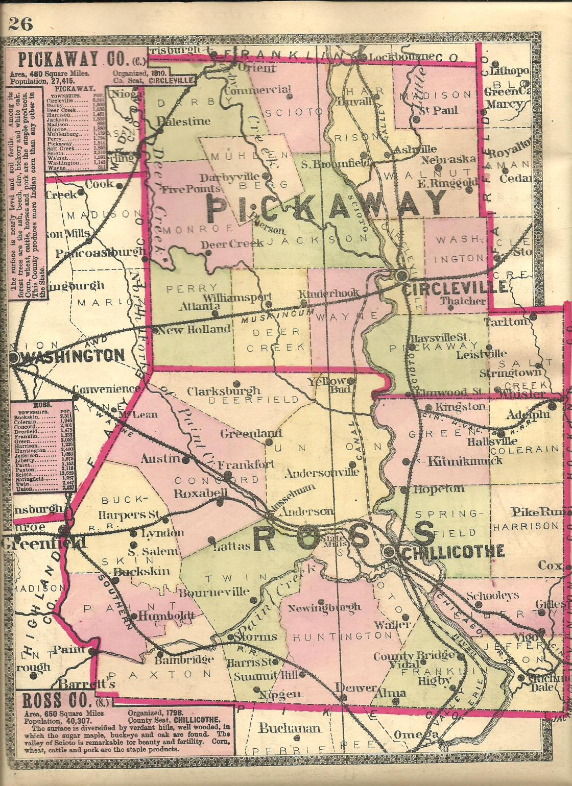 Ghost Town Colorado Map.Ross County Ohio Ghost Town Exploration Co