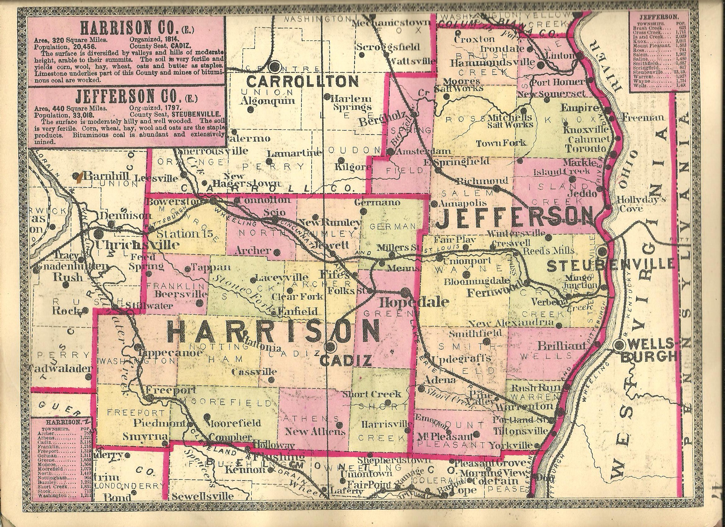 Harrison County Ohio Ghost Town Exploration Co