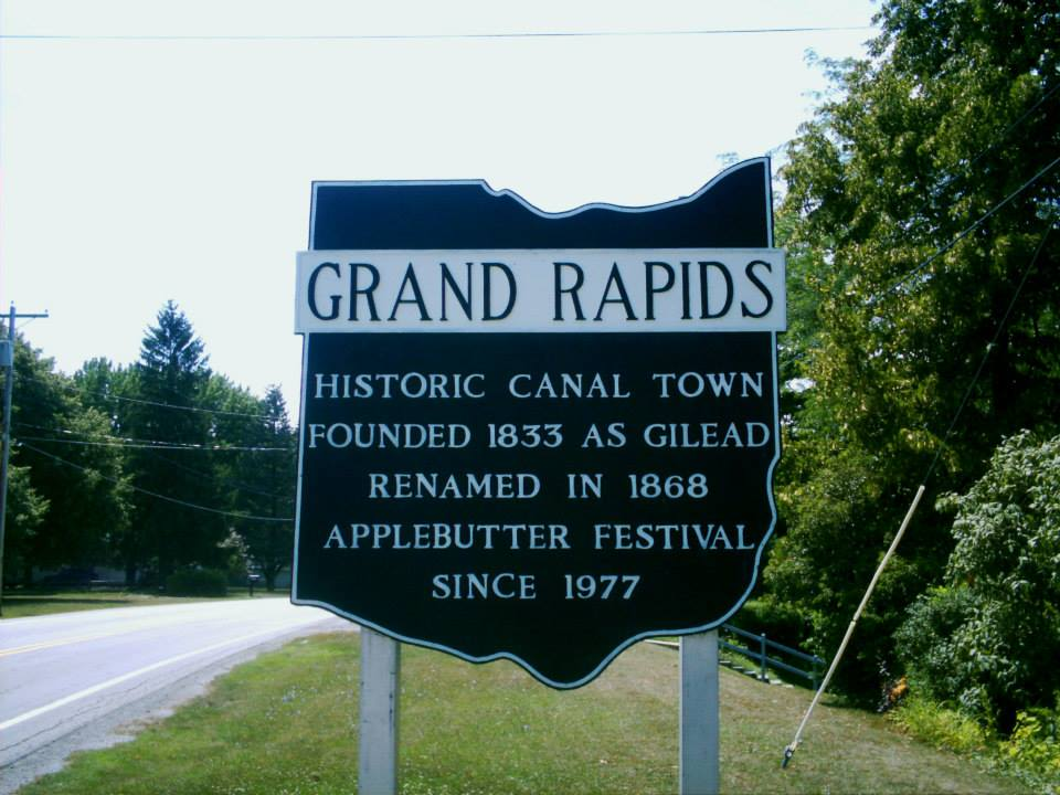 Wood Grand Rapids Sign 2