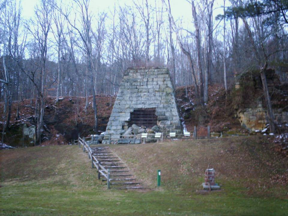 Hope Furnace - Vinton County Ohio Semi-Ghost Town